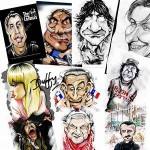 Caricatura digitale