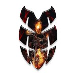 Ghost Rider - Paraserbatoio resinato