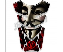 V for Vendetta! - Paraserbatoio resinato