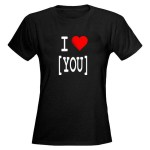 I Love [YOU] | T-shirt