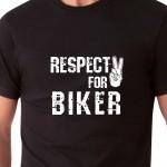 Respect for biker| T-shirt