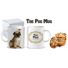 Pug mug - Tazza con carlino