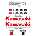 Z 1000 - KAWASAKI | kIT StickerS sagomatI