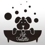 Pet toilette - Sticker da 10x11 cm