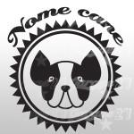Dog name - Sticker da 10x10  cm