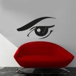 Occhi di donna 100x50 cm