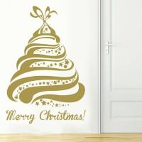 Albero di Natale - Adesivo murale 56x83 cm