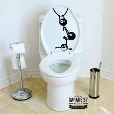 Acrobati - Adesivi per wc