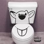Orso - Adesivi per wc