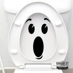 WOW - Adesivi per wc