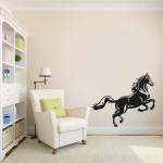 Cavallo 101x85 cm