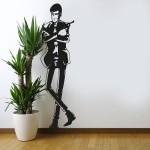 Lupin - Adesivo murale 40x140 cm