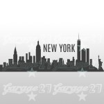 New York - 120x46 cm