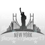New York - 96x63 cm