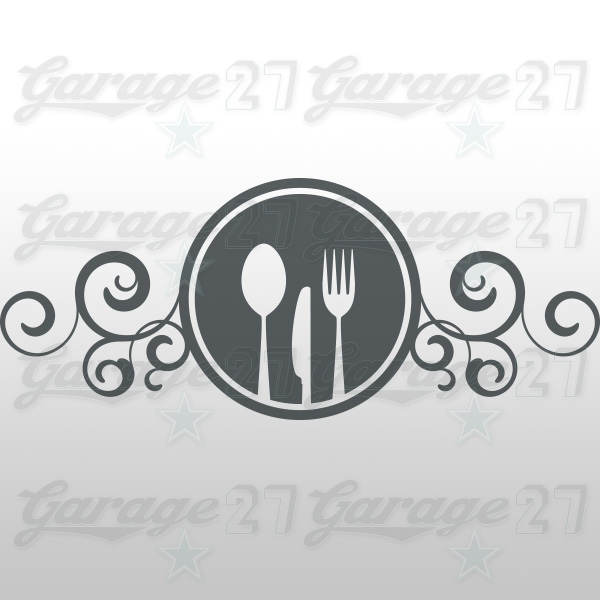 Cucina decal 50x20 cm for Stickers cucina