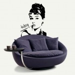 Audrey Hepburn 58X75cm