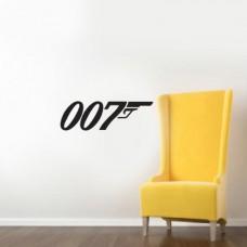 Agente 007- 60x19 cm