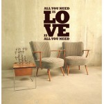 All You need is -  Sticker60x78 cm