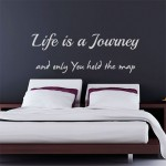 Life is a Journey-L= 220 cm