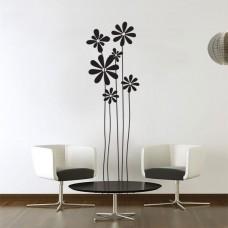 Margherite adesivi murali-55x180 cm