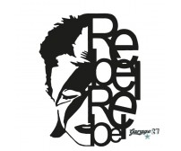David Bowie | Adesivo murale 55x72 cm