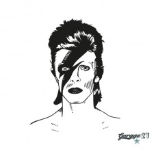 David Bowie | Adesivo murale 56x70 cm