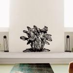 Cespuglio tropicale 62x73 cm