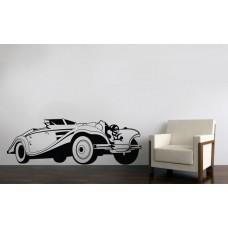 Retro car - 172x60 cm