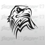 Rapace 18x20cm | Sticker sagomato