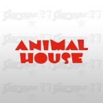 Animal House - Sticker sagomato da 15 cm