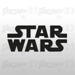 Star wars - Sticker sagomato da 10 cm