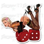 Pin-up sticker 37 - da 10 cm