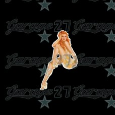 Pin-up sticker 3- da 10 cm