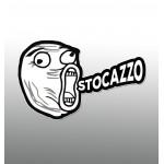 Stocazzo - Sticker da 10 cm