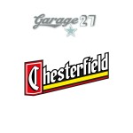 Chesterfield | Sticker stampato da 10  cm