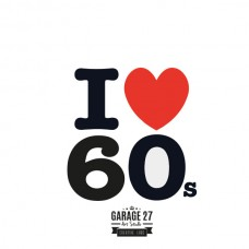 I love 60s - Sticker da 10 cm