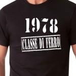 1978 Classe di Ferro | T-shirt compleanno
