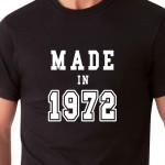 Made in 19... | T-shirt compleanno