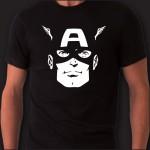 Captain America T-shirt | Fronte/Retro