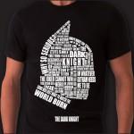 The Dark Knight T-shirt -Fronte/ Retro