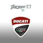 DUCATI Corse | Sticker stampato da 8  cm