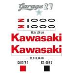 Z 1000 - KAWASAKI | kIT StickerS sagomatI