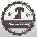 Dog name 05 - Sticker 10x10 cm