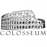 Adesivo sagomato Roma Colosseo - 40x22,5cm