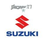 SUZUKI logo   Sticker sagomato da 9  cm