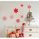 Fiocchi di neve - Stickers plancia 58x40 cm