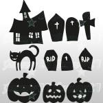 Halloween Set 3 - 50X50 cm Stickers decorativi