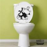 Macaco - Adesivi per wc