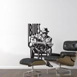 Blues man 58x98 cm