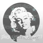 Marilyn Monroe 58x62 cm